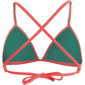 Dolfin Solid Haut de bikini triangle Femme, coral